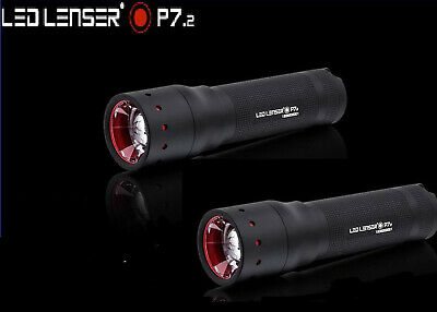 LED LENSER P7.2 TWIN PACK 320 Lumens TORCH FLASHLIGHT Separate Retail Boxes