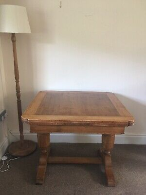 Handmade Antique Extending Dining Table Kitchen Table Solid Wood