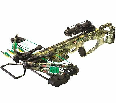 2018 PSE Camo Fang 350fps XT Crossbow Package 01304CY