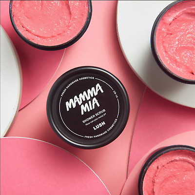Lush Mamma Mia Body Scrub 300g (Mothers' Day Limited Edition) + FREE Lush Sample