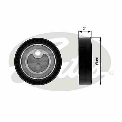 Aux Belt Tensioner fits BMW 320 E36 2.0 90 to 99 Drive V-Ribbed INA 1427252 New