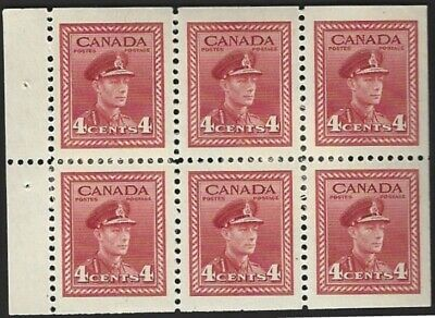Canada   # 254a   KING GEORGE VI WAR ISSUE    Brand New 1942 Pristine Issue   04