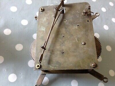 Antique Clock Movement HAC Chiming EX CLOCKMAKERS Spare Parts 11x9cm UNTESTED