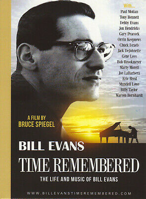 Jazz Pianist BILL EVANS New Sealed 2019 COMPLETE BIOGRAPHY & HISTORY DVD
