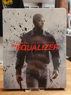 The Equalizer (Blu Ray) 2 Disc Steelbook