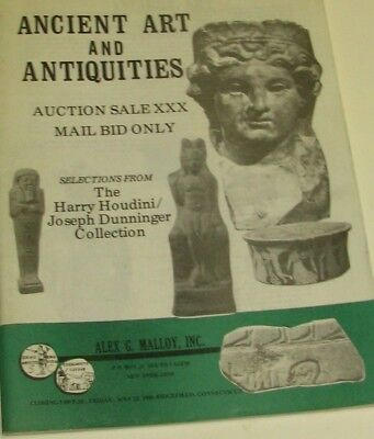 (Pgasteelers1)Alex Malloy Sale of Ancient Art & Antiquities Auction XXX May 1990