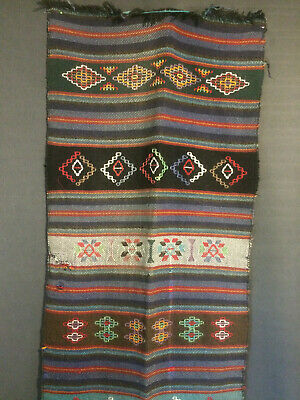Antique/Vintage Rare Nepalese Hand Woven and Embroidered Shawl.