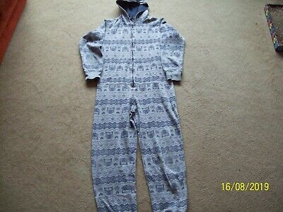 OWL Design Grey Onesie (not gerber) by NEW LOOK 915 GENERATION age 12-13 yrs