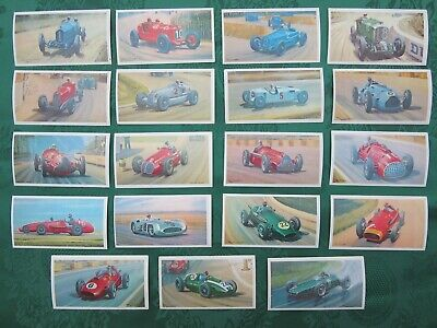 F1 Cars Mobil The Story of Grand Prix Motor Racing Trading Cards Part Set 19/36