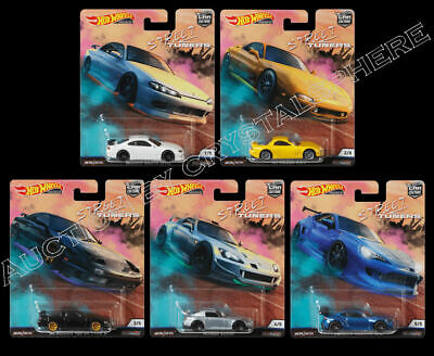 Hot Wheels Car Culture 2019 Street Tuners Set of 5 - FPY86-956L - In Stock