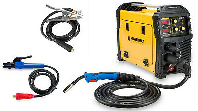 WELDER MULTIFUNCTION 5 in 1 MIG / MAG / TIG / FCAW / MMA WELDER INVERTER 230AMP