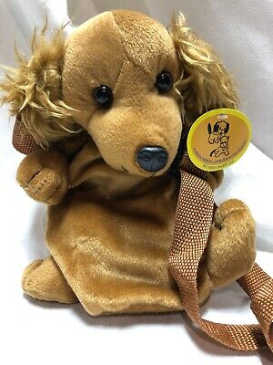 Insulated Plush Baby Milk Water Bottle Holder Puppy Plush Toy Thermal Cover