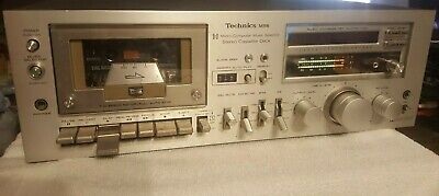 Technics M56 RS-M56 Stereo Tape Cassette Deck Working good