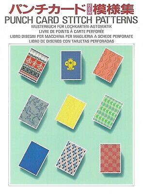 Silver Reed PUNCH CARD STITCH PATTERN BOOK *NEW* 304 Patterns for 4.5mm Machine