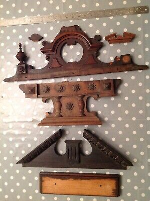 Antique Clock Case Parts Mainly Vienna To Repair Restore