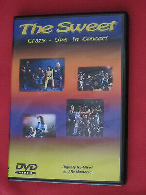 DVD The Sweet. Crazy - Live in concert