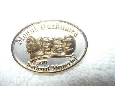 Vintage Mount Rushmore National Memorial Collectors Pin