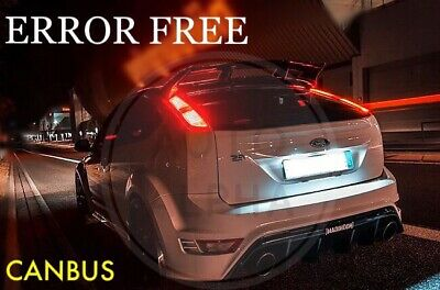 2x Ford Focus C-Max Bright Xenon White Superlux LED Number Plate Light Bulbs