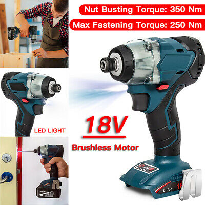 18V Li-Ion Brushless Cordless Impact Wrench 1/2'' Driver For Makita DTW285Z-BODY