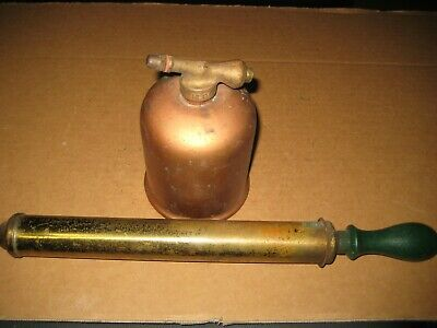 "Vintage Copper ""Rega"" Hand Spray Pump"
