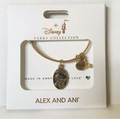 Haunted Mansion 50th Anniversary Alex and Ani Hitchhiking Ghost Bracelet