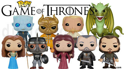 FUNKO POP-Game Of Thrones -Arya Stark, Night King, Drogon, Viserion, and more...
