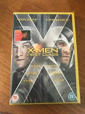 Marvel's X Men First Class DVD - James McAvoy, Michael Fassbender New & Sealed
