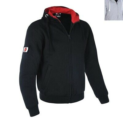 NEW Oxford Men's Super Motorcycle Protective Riding Hoodie