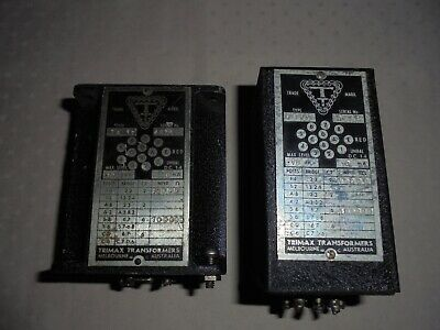 Trimax MS17 and TA17  10K:100K  audio transformers