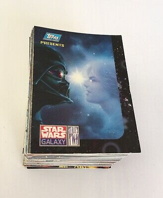 Star Wars Galaxy Series 2 trading cards x108