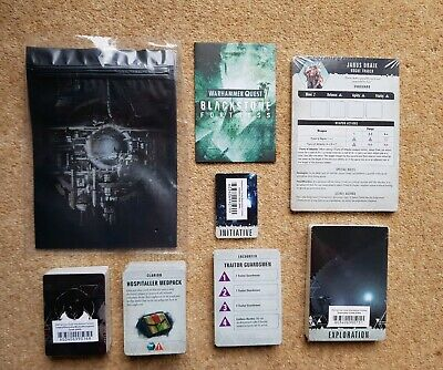 Warhammer Quest Blackstone Fortress Gaming Cards- Exploration, Encounters etc