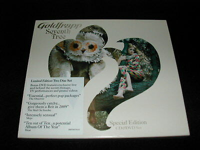 GOLDFRAPP - Seventh Tree (Mute CD 2008) CD/DVD Limited Edition
