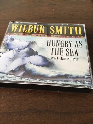 Hungry As The Sea by Smith, Wilbur CD-Audio Book  Like New