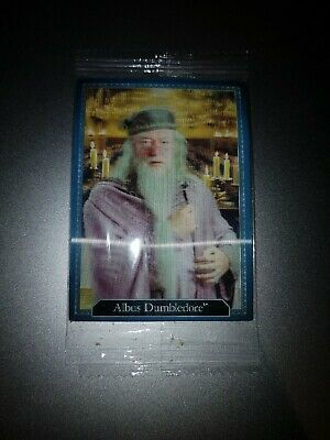SEALED Harry Potter Chocolate Frog Card - Dumbledore