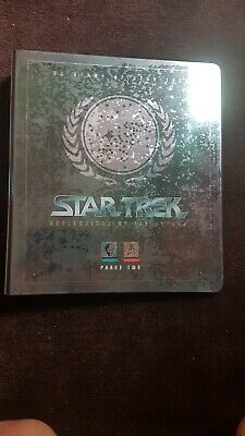 Star Trek Reflections of The Future Phase Two Trading cards + binder
