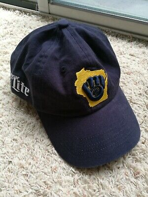 Milwaukee Brewers Strapback Cap Hat Giveaway