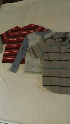Cherokee Hurley Old Navy boy Toddler shirts lot set of 3 size 4T