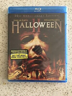 Halloween II 30th Anniversary Blu Ray feat. Terror in the Aisles New, Sealed A