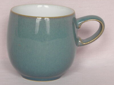 Denby Stoneware, Azure, Small curve mug, 8.5cm tall, 8cm diameter at rim