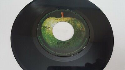 THE BEATLES *** Let It Be *** 45 rpm Apple Records Philippines Pressed