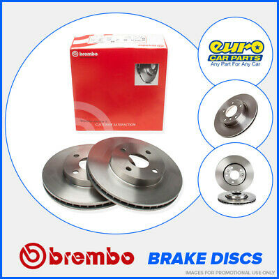 Brembo 09.4883.10 Front Brake Discs 260mm Vented BMW 3 Series Convertible E30 Z1