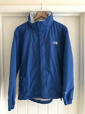 The North Face Mens Hyvent Waterproof Jacket Mens Small Blue