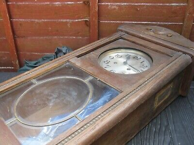 vintage long case wall clock