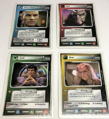 Star Trek Next Generation 200+ Customizable Card Game 1994 1E