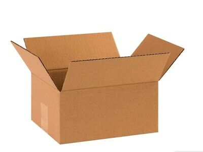 100 8x8x10 Cardboard Shipping Boxes Cartons Packing Moving Mailing Box