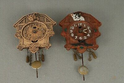 Pair Of Keebler Cuckoo Style Clock For Spares Or Repair
