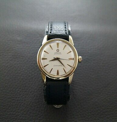 Vintage Omega Seamaster 14K Solid Yellow Gold Automatic Bumper Cal.354 Ref.2767