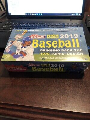 2019 Topps Heritage High Number Complete Base Set 501-700 Guerrero Tatis Nice!`