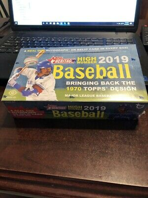 2019 Topps Heritage High Number Complete Base Set 501-700 Guerrero Tatis Nice!