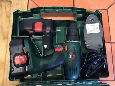 Bosch PSR 18V Cordless drill driver. With 2 batteries and charger.